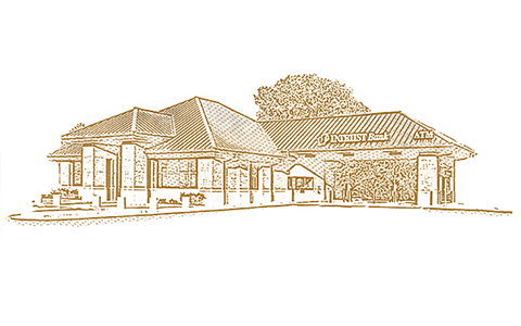 Illustration of an INTRUST banking center